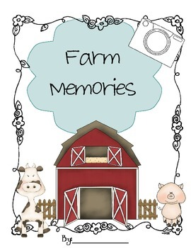 Farm Themed Memory Book