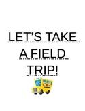 Field trip planning activity