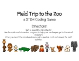 Field trip to the Zoo-A STEM game