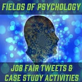 Fields/Careers in Psychology Engaging Activities Bundle (w/ Gallery Walk)