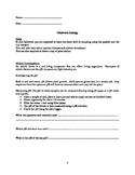 Fieldwork worksheets