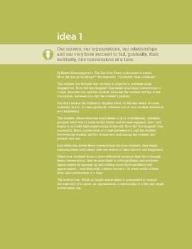 Fierce Conversations Bundle of Ideas 1-3