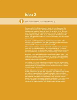 Fierce Conversations Idea 2