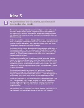 Fierce Conversations Idea 3