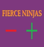 Fierce Ninjas: Positive and Negative numbers