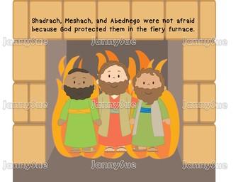 Fiery Furnace craft- Bible Craft for kids