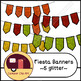 Fiesta Banners / Pennants Glitter and Solid {CU - ok!} Cinco de Mayo