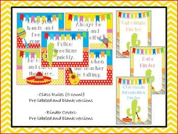 Fiesta Classroom Decoration Pack
