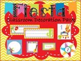 Fiesta Classroom Decoration Pack *EDITABLE*