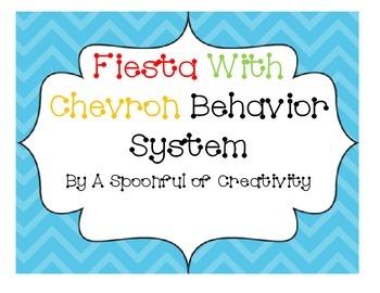 Fiesta Colors and Chevron Behavior System