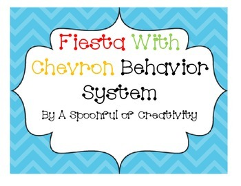 Fiesta Colors and Chevron Behavior System