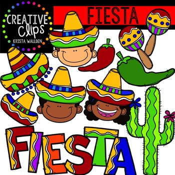 Fiesta {Creative Clips Digital Clipart}