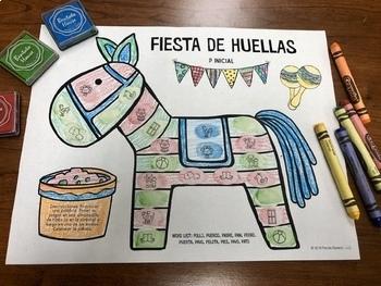Fiesta De Huellas Dactilares: A Speech Therapy Art Activity in Español