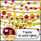 Fiesta Decorations / String Lights Glitter and Solid {CU - ok!} Cinco de Mayo