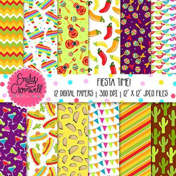 Fiesta Digital Paper