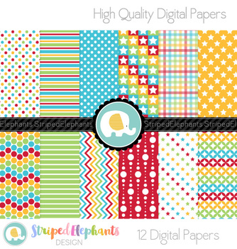 Fiesta Digital Papers