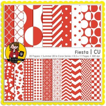 Fiesta Digital Papers {CU}