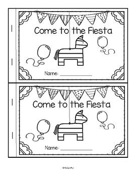 Fiesta Emergent Reader Cinco de Mayo
