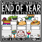 Fiesta End of Year Bulletin Board & End of Year Writing Taco 'Bout A Great Year