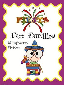 Fiesta Fact Family Math Center (Multiplication & Division)