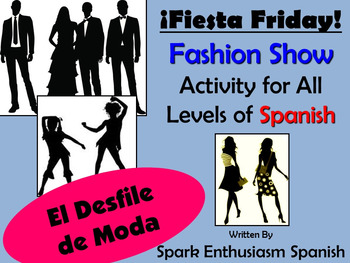Fiesta Friday!  Spanish Fashion Show Activity for All Levels