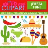 Fiesta Fun Clip Art (Digital Use Ok!)