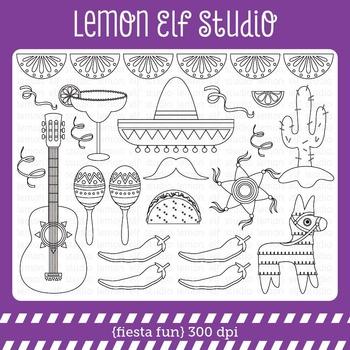 Fiesta Fun-Digital Stamp (LES.DS30)