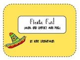 Fiesta Fun! {Math and Literacy Mini Pack}