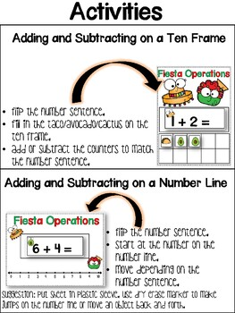 Fiesta Operations! Addition and Subtraction