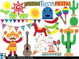 Fiesta Set Clipart Digital Clip Art Graphics 86 images cod27
