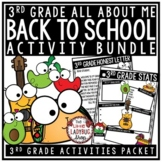 Taco Bout Me Back To School Activities 3rd Grade First Day of School Activities