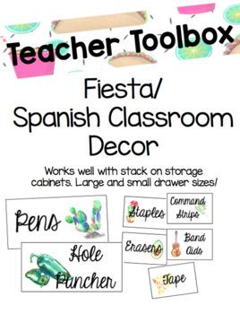 Fiesta Teacher Toolbox