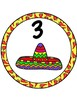Fiesta Table Numbers 1-8