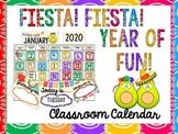 Fiesta Themed Classroom Calendar Kit