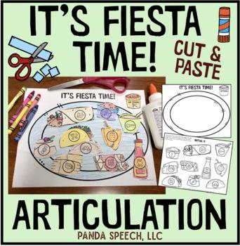 Fiesta Time Articulation: A Speech Therapy Craft Activity