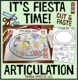 Fiesta Time Articulation: A Speech Therapy Craft Activity