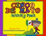 Fiesta Time!  Cinco de Mayo Math and Literacy Activities!