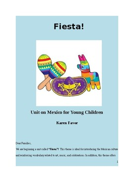 Fiesta! Unit on Mexico for Young Children