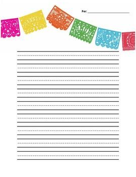 Fiesta Writing Paper