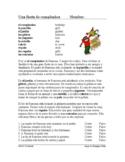 Fiesta de cumpleaños y Piñata Lectura: Birthday Party (Present Progressive)