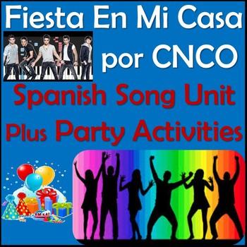 Fiesta en Mi Casa - Spanish Song Lyrics & Party Activities - CNCO