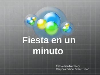 Fiesta en un Minuto - Spanish