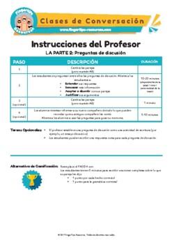 Fiestas - Spanish Speaking Activity