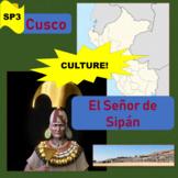 Cuzco (1), El señor de Sipán (2); indigenous people in Per