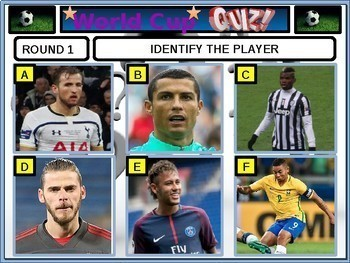 Football 2018 Quiz Soccer Football