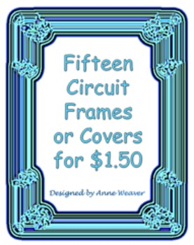 Fifteen Original Circuit Frames/Covers for $1.50