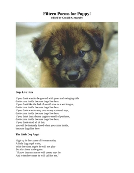 Fifteen Poems for Puppy!
