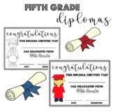Fifth (5th) Grade Graduation Diplomas