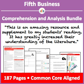 Fifth Business – Comprehension and Analysis Bundle