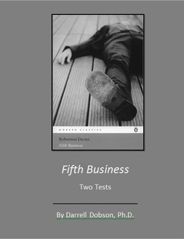 fifth business  robertson davies  two unit tests  tpt